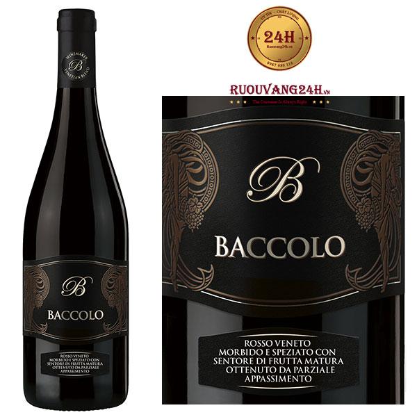 Rượu Vang Baccolo Appassimento - IGT