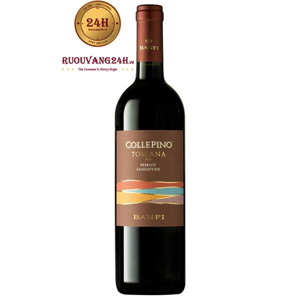 Rượu Vang Banfi Collepino IGT Tuscany