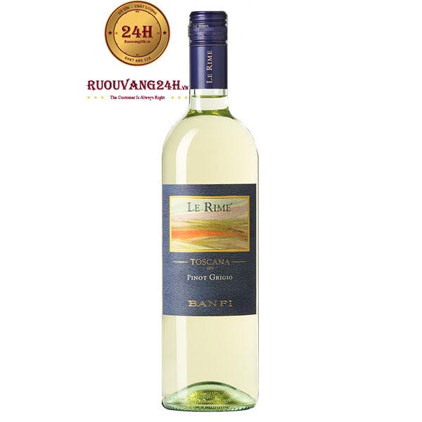 Rượu Vang Banfi Le Rime IGT Tuscany