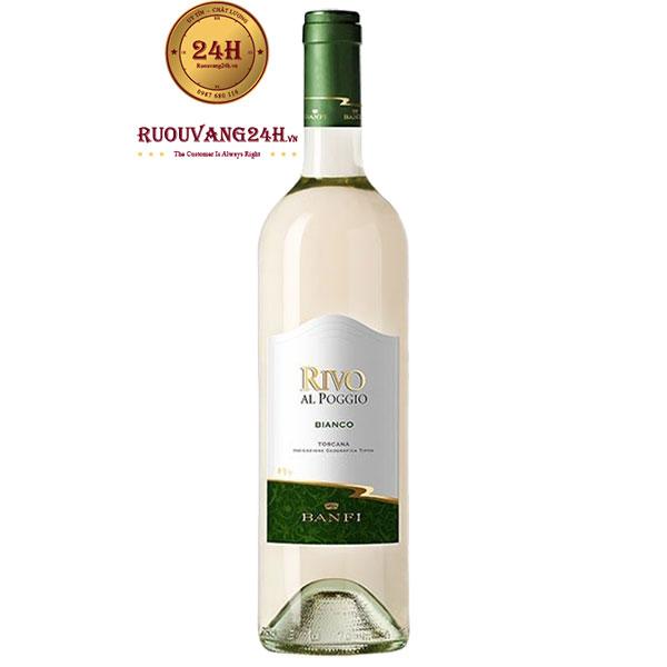 Rượu Vang Banfi Rivo Al Poggio Bianco IGT Tuscany