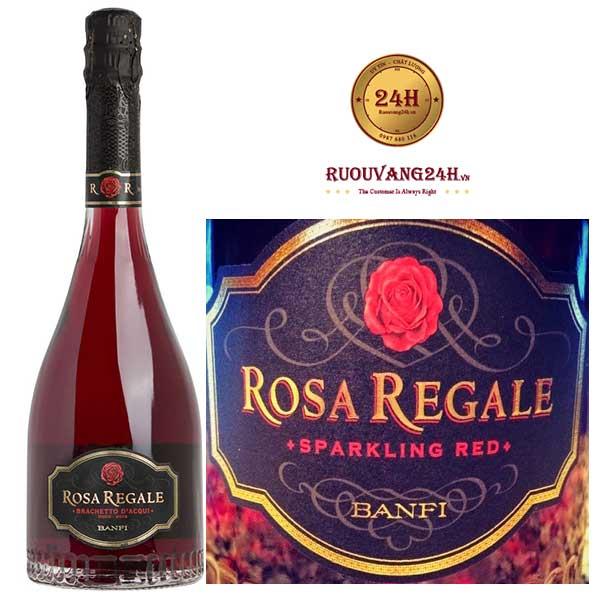 Rượu Vang Banfi Rosa Regale Brachetto d'Acqui DOCG