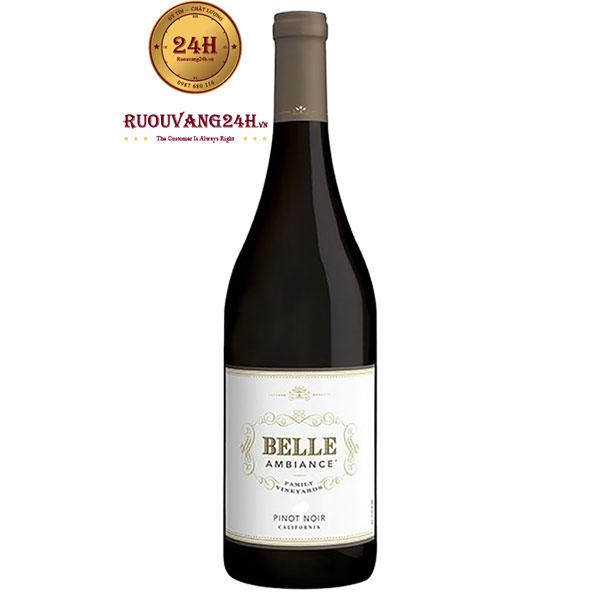 Rượu Vang Belle Ambiance Pinot Noir