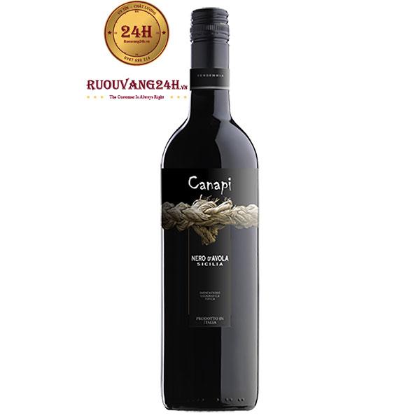 Rượu Vang Canapi Nero d'Avola IGT Sicilia