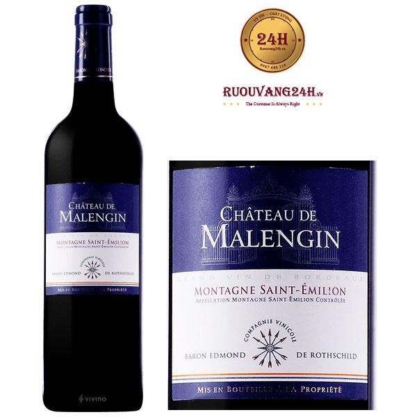 Rượu Vang Chateau de Malengin Montagne Saint – Emilion