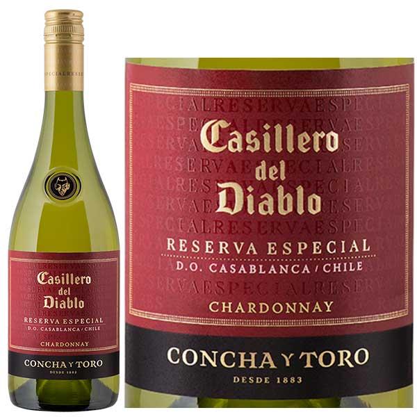 Rượu Vang Concha Y Toro Casillero Del Diablo Reserva Especial Chardonnay