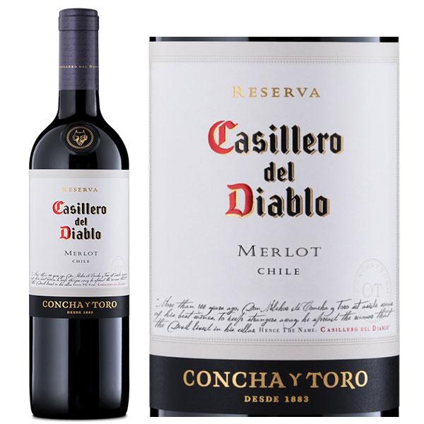 Rượu Vang Concha Y Toro Casillero Del Diablo Reserva Merlot