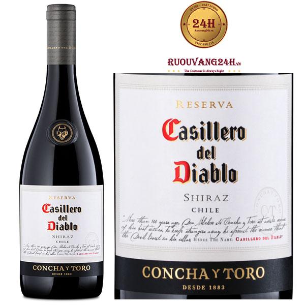 Rượu Vang Concha Y Toro Casillero Del Diablo Reserva Syrah