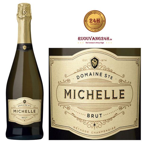 Rượu Vang Domaine Ste Michelle Michelle Brut