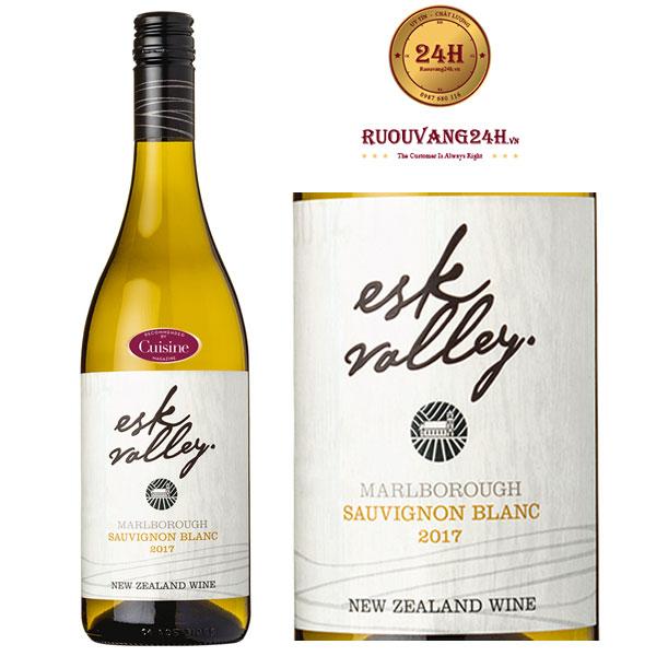 Rượu Vang Esk Valley Sauvignon Blanc Marlborough