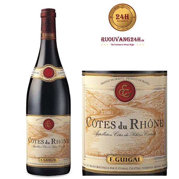 Rượu Vang Guigal Cotes du Rhone Red