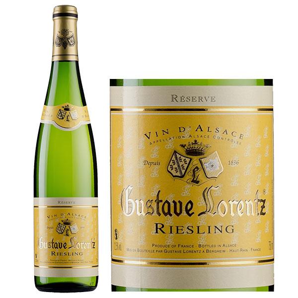 Rượu Vang Gustave Lorentz Alsace Riesling