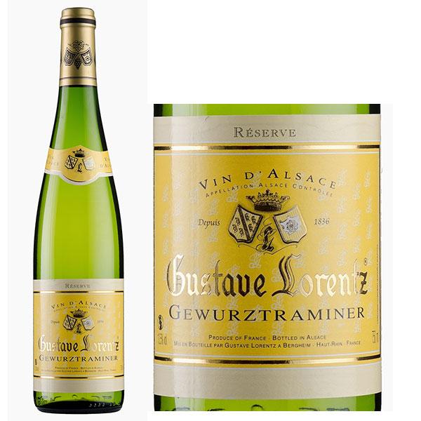 Rượu Vang Gustave Lorentz Gewurztraminer Alsace
