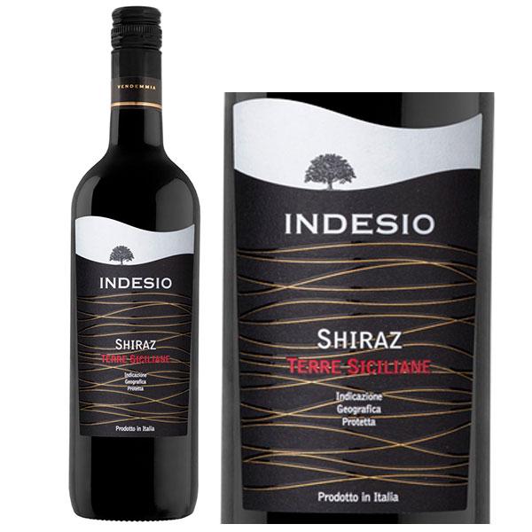 Rượu Vang Indesio Shiraz IGT Sicilia