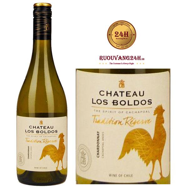 Rượu Vang Los Boldos Chardonnay