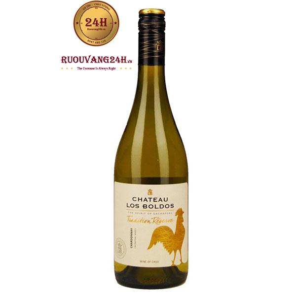 Rượu Vang Chateau Los Boldos Chardonnay