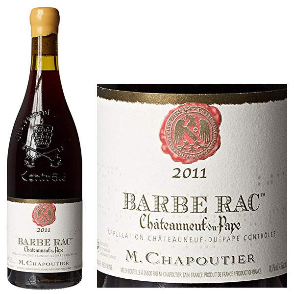 Rượu Vang M.Chapoutier Barbe Rac Chateauneuf du Pape