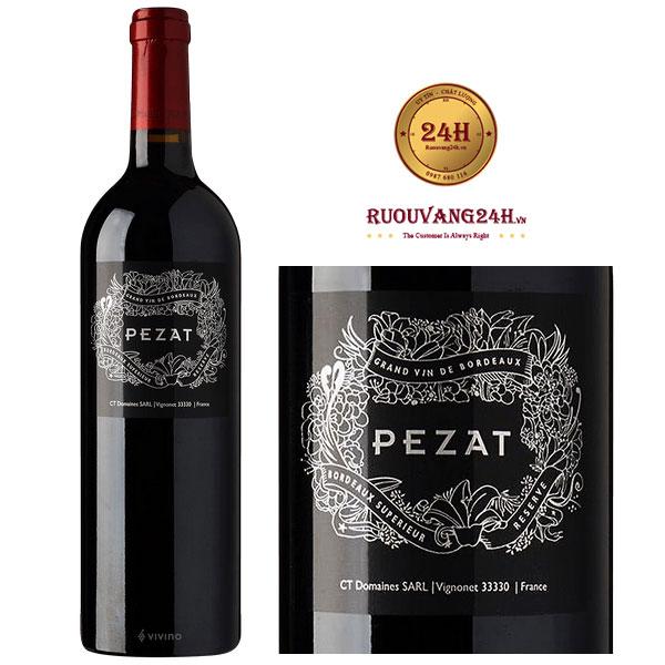 Rượu Vang Maltus Pezat Bordeaux Superior