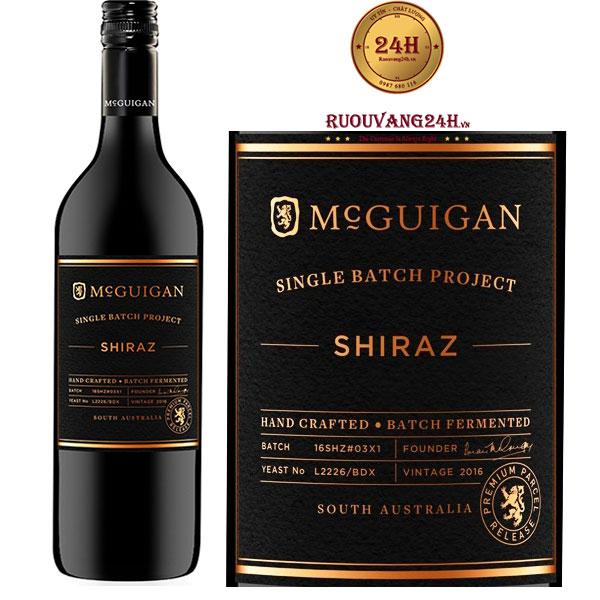 Rượu Vang McGuigan Single Batch Shiraz