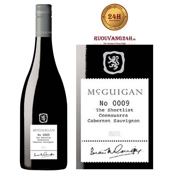 Rượu Vang McGuigan The Shortlist
