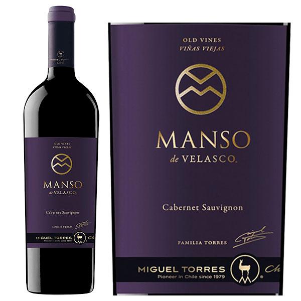 Rượu Vang Miguel Torres Manso de Velasco Cabernet Sauvignon Old Vines