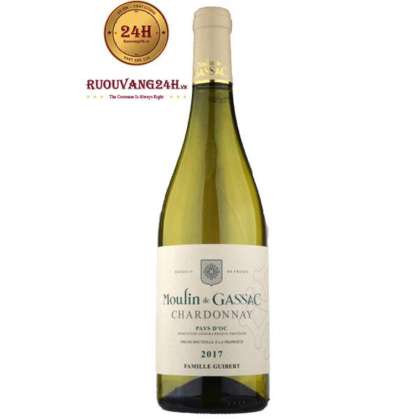 Rượu Vang Moulin de Gassac Chardonnay