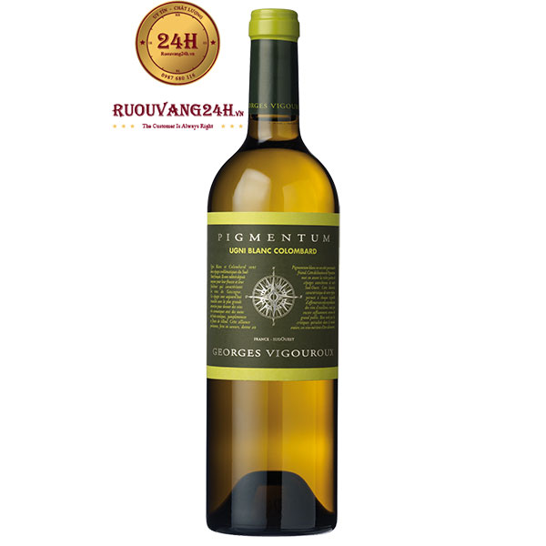 Rượu Vang Pigmentum Georges Vigouroux Blanc Colombard