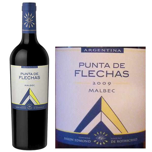 Rượu Vang Punta de Flechas Malbec