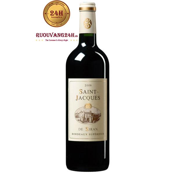 Rượu Vang Saint Jacques de Siran Margaux