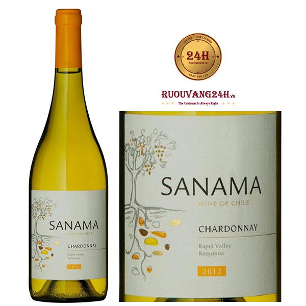 Rượu Vang Sanama Chardonnay