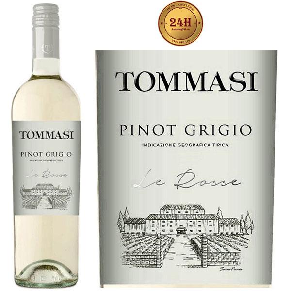 Rượu Vang Tommasi Le Rosse Pinot Grigio Delle Venezie IGT