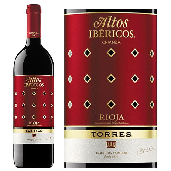Rượu Vang Torres Altos Ibericos Crianza Rioja DOCa