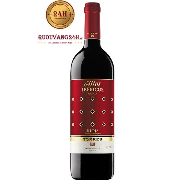 Rượu Vang Torres Altos Ibericos Crianza Rioja