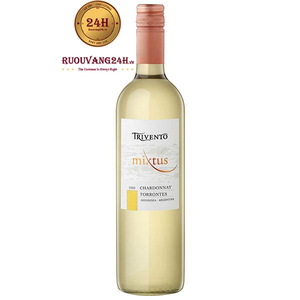 Rượu Vang Trivento Mixtus Chardonnay Torrontes Mendoza