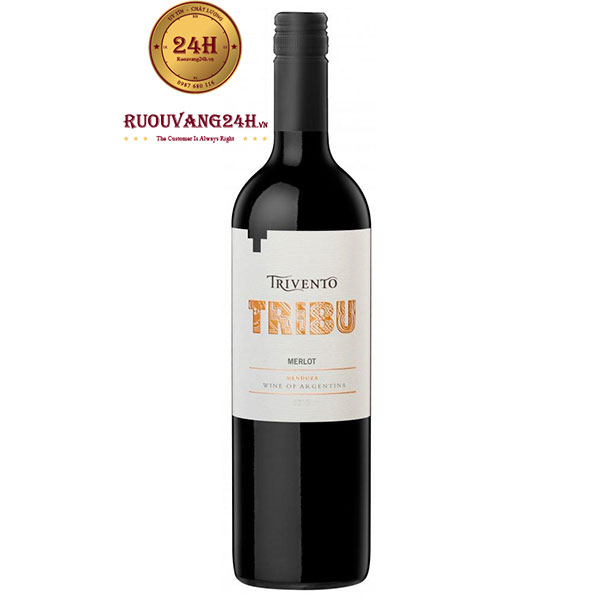 Rượu Vang Trivento Tribu Merlot Mendoza