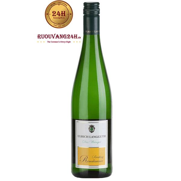 Rượu Vang Ulrich Langguth Renaissance Riesling
