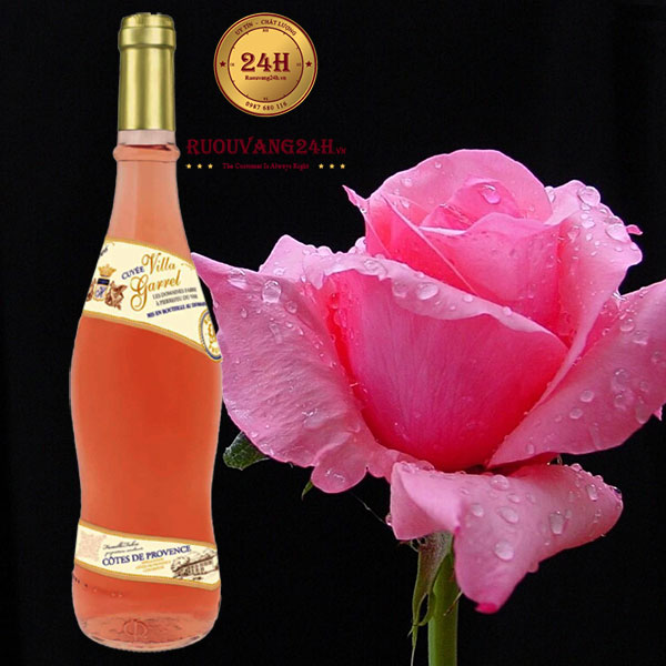 Rượu Vang Villa Garrel Rose Cotes de Provence