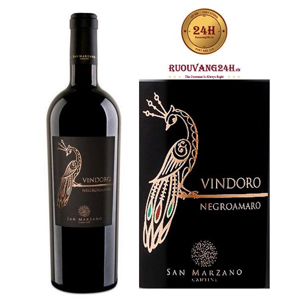 Rượu Vang Vindoro Negroamaro
