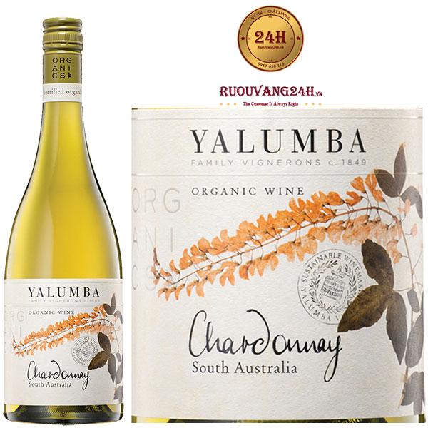 Rượu Vang Yalumba Organic Riverland Chardonnay