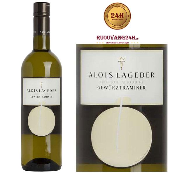 Rượu vang Alois Lageder Sudtirol Gewurztraminer Alto Adige DOC