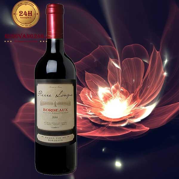 Rượu vang Bordeaux De Pierre Longue