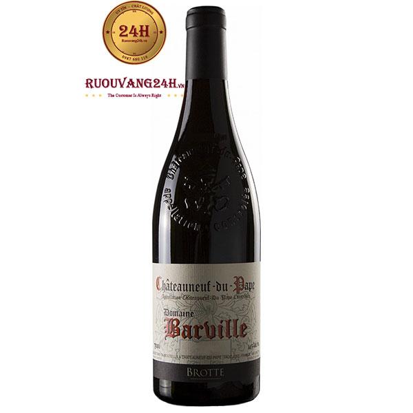 """Rượu vang Châteauneuf Du Page """"Domaine Barville"""""""