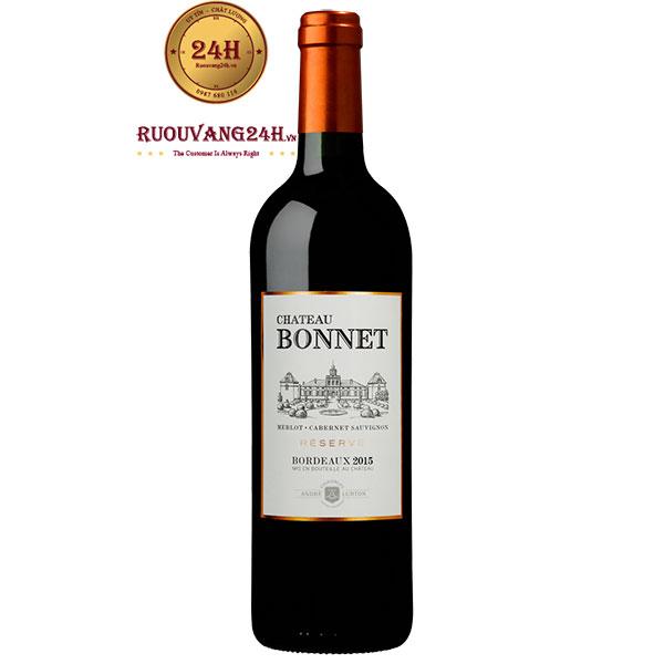 Rượu vang Chateau Bonnet Bordeaux Red