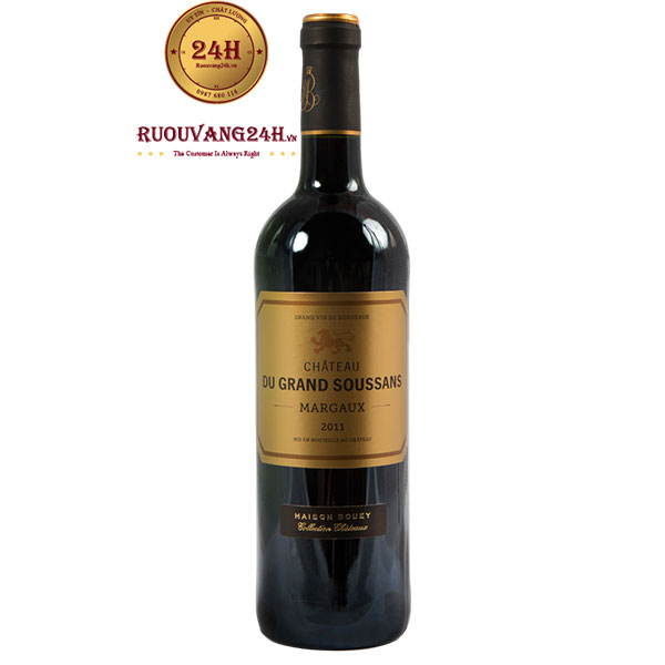 Rượu vang Chateau Grand Soussans Margaux