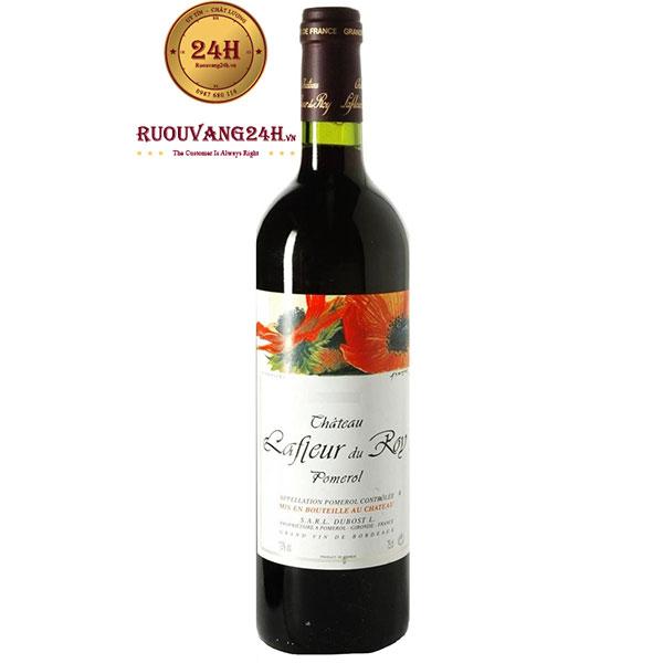Rượu vang Chateau Lafleur Du Roy