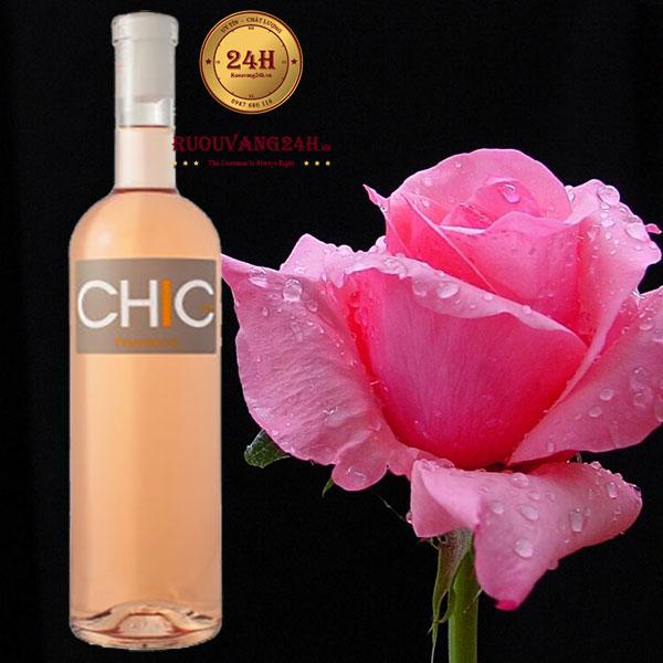 Rượu vang Chic St Tropez