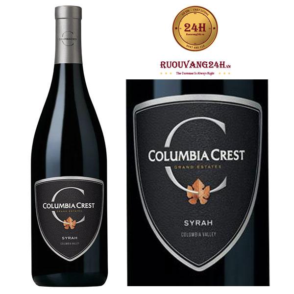 Rượu vang Columbia Crest Grand Estates Syrah