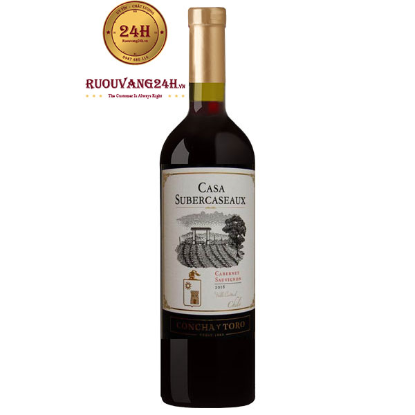 Rượu Vang Casa Subercaseaux Cabernet Sauvignon