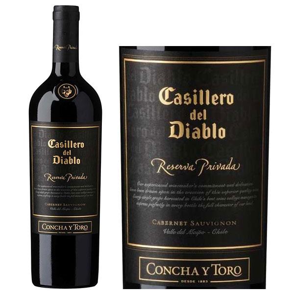 Rượu vang Concha Y Toro Casillero Del Diablo Reserva Privada