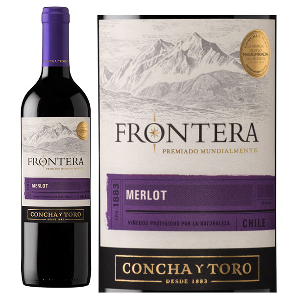 Rượu Vang Chile Frontera Merlot