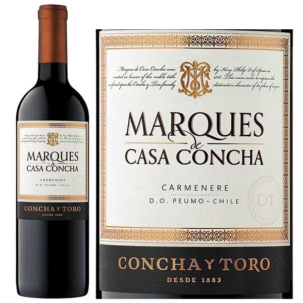 Rượu vang Marques de Casa Concha Carmenere